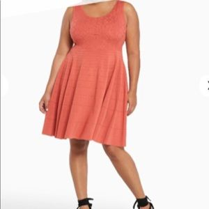 Sz 3 Torrid knit sleeveless fit and flare dress